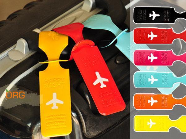 ORG《SD0288》行李吊牌 飛機造型 行李/行李箱 吊牌/掛牌/名牌/托運牌 旅行/出國/旅遊 行李辨識 馬卡龍 - 露天拍賣