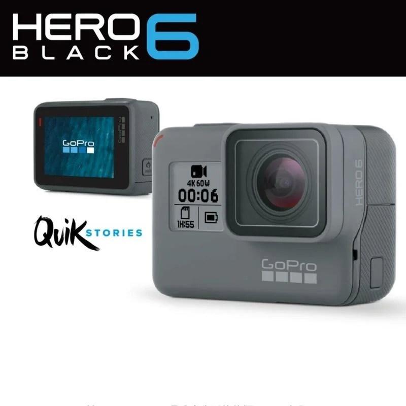 [傑大運動相機專賣]GOPRO HERO6 公司貨 極限攝影機 防水 語音 GPS 影片編輯(非SJ4000 SJ7) - 露天拍賣