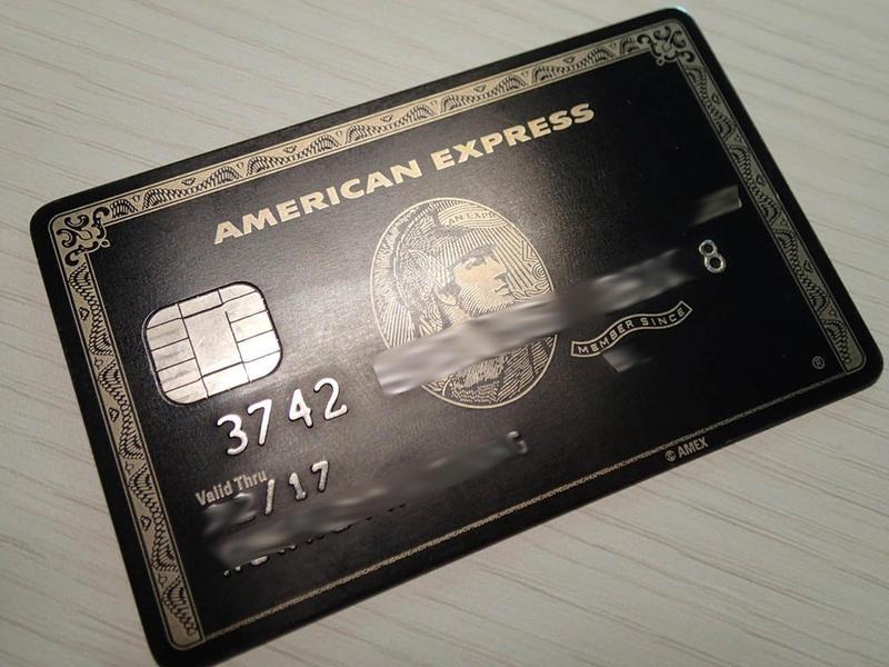 (正品) 美國運通 黑卡 六個八 AE 百夫長卡 American Express Centurion Black 逸品 - 露天拍賣