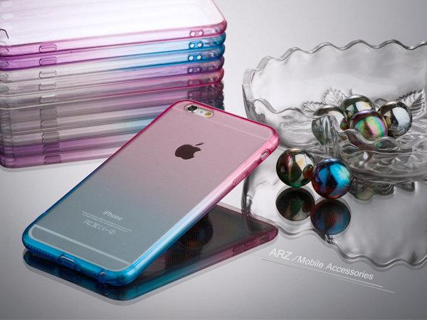 【ARZ】漸層色透明殼 iPhone 6s i6s iPhone 5s SE Note 4 S6 Edge 手機殼手機套 - 露天拍賣