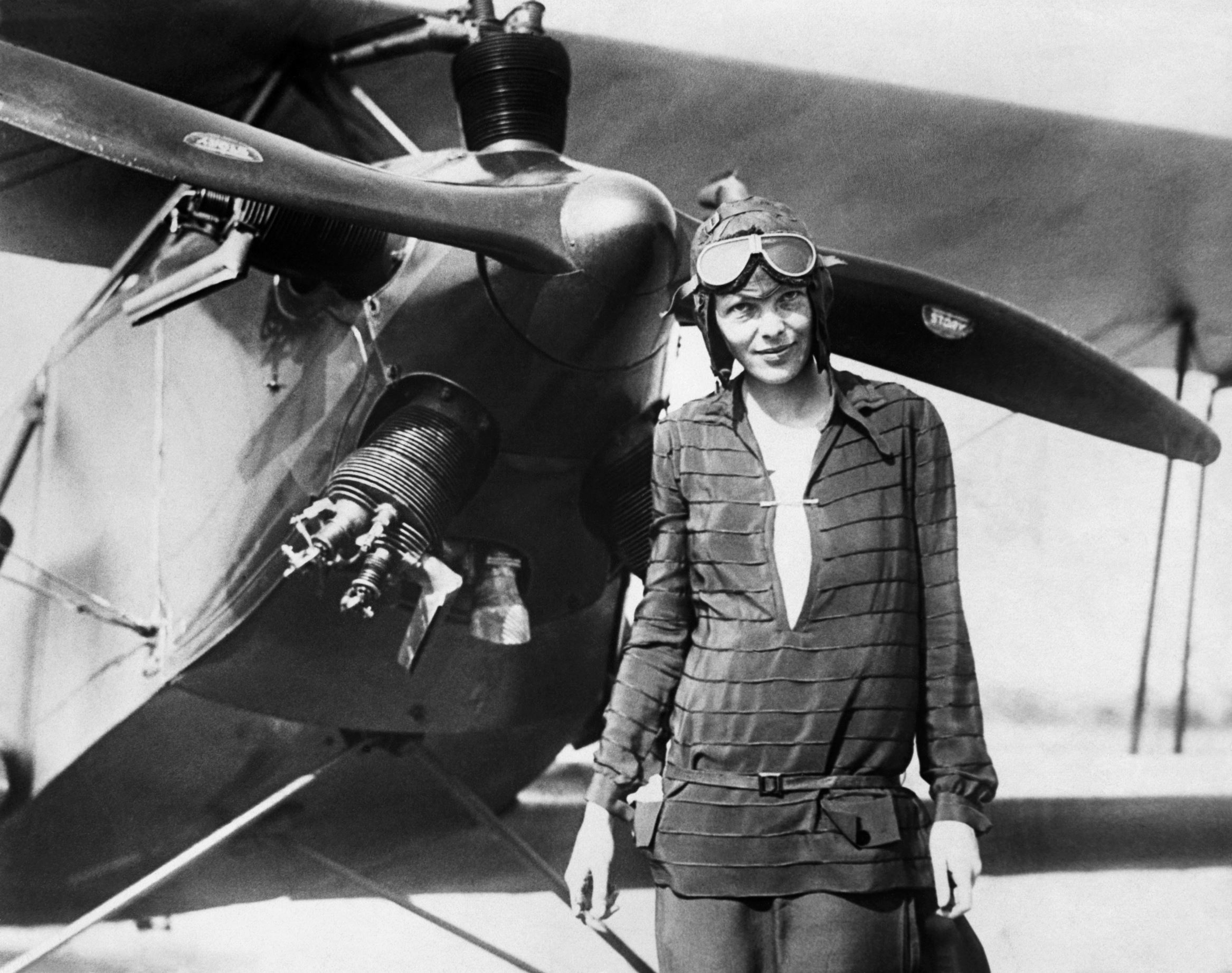 The aviator was the first female pilot to fly across the Atlantic Ocean, mysteriously disappeared while flying over the Pacific Ocean in 1937.