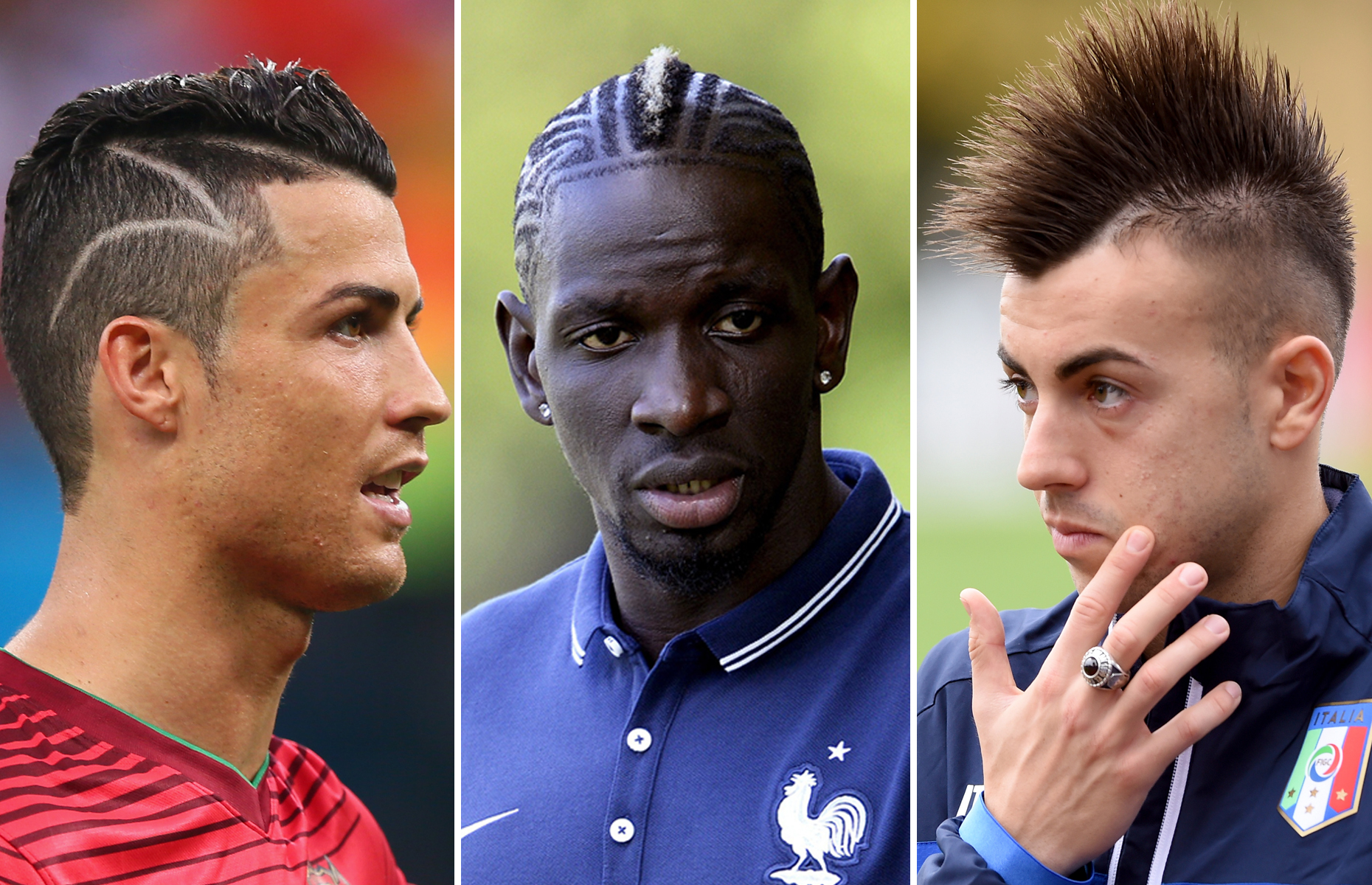Sports and fashion go hand in hand with athletes dawning a number of funky hairstyles this year. Let's take a look at some that caught the eye in 2014.