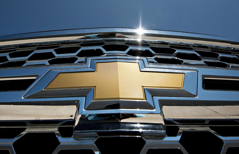 Chevrolet logo.