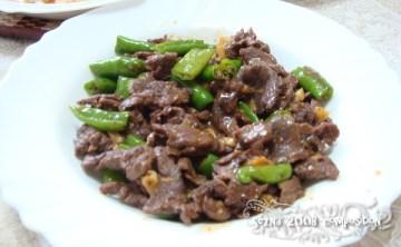 [型] 沒加胡椒醬也可以炒出來的黑胡椒炒青椒牛肉