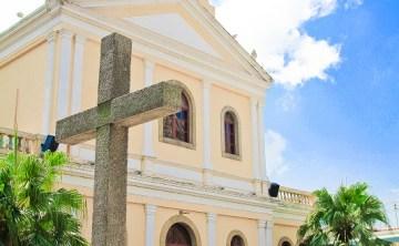 [澳門。氹仔] 嘉模聖母教堂 莫義記芒果雪糕 官也墟文創商品超有趣