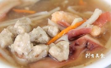 [鹿港] 玻璃廟美食之旅(1) 人氣無法擋的 生炒五味 發記粉粿冰