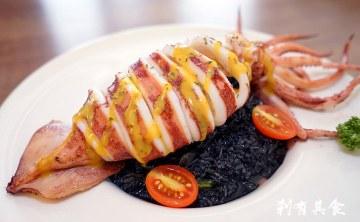 米古MIGU PASTA 平價義式料理 | 台中北屯區美食 好威的一大隻墨魚燉飯 ( 2017.06更新地址)