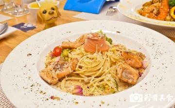 雙門洞義式美食館 | 結合寵物與霹靂布袋戲的雙主題餐廳 義大利麵跟燉飯都很好吃 (寵物友善餐廳) 青海家樂福後面(已歇業)