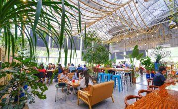 山姆派樂 | 大坑美食 很特別的溫室景觀餐廳 炸牛排咖哩飯 (近大坑九號步道)