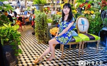 Thai J | 台中泰式料理 好像在花園裡用餐的超夢幻餐廳 泰式米沙拉很有梗