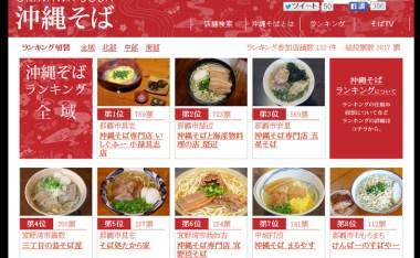 [沖繩美食]沖繩麵排行網站-讓你一看就知道該去哪間吃麵!