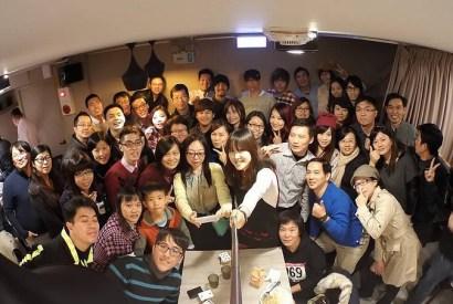 [活動記錄]2014天下為暢部落客聚會聖誕趴-in 486cafe