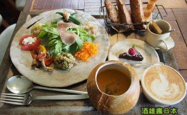 [沖繩美食]PLOUGHMANS LUNCH BAKERY(農夫午餐麵包店)-寧靜山坡旁的優雅早午餐