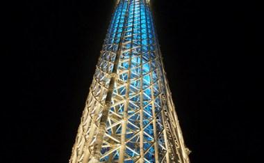 [東京]天空樹(晴空塔)相見歡之點燈好好看唷!(完整版)