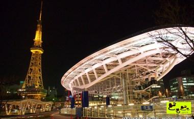 [愛知]榮商圈櫻花之名古屋電視塔與OASIS 21的夜景競演