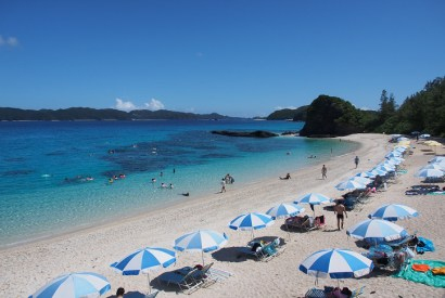 [沖繩]古座間味沙灘-透明度超高的米其林二星海灘