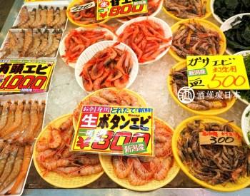 [新瀉]寺泊魚市場-螃蟹牡丹蝦海鮮齊全 號稱魚的阿美橫丁 海鮮愛好者快列入待去清單