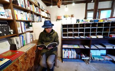 [山口長門]ロバの本屋(驢子書店)-遠離塵世的非日常空間 書店與咖啡