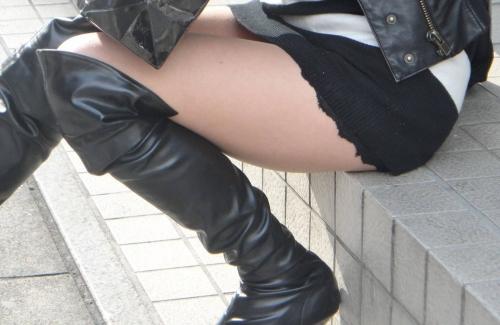 【三次】ロングブーツ履いてる女の子のエロ画像・2枚目