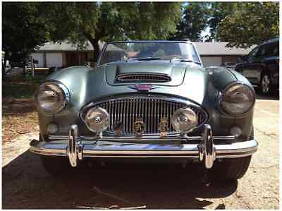 Austin cars for sale in California 1963 Austin Healey Other 1963 Austin Healey 3000 MK II BJ7   Jade Pearl  Green