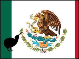 mexico, new zealand, kiwi, eagle