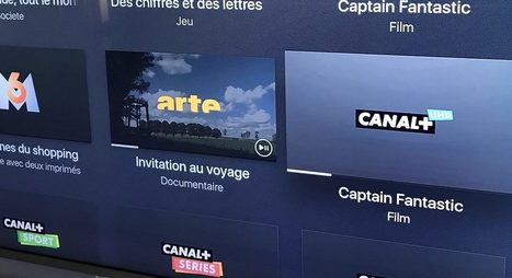 Apple TV  in TV Direct   Replay gratuit   Scoop it Apple TV   Canal  est maintenant disponible en 4K avec myCanal