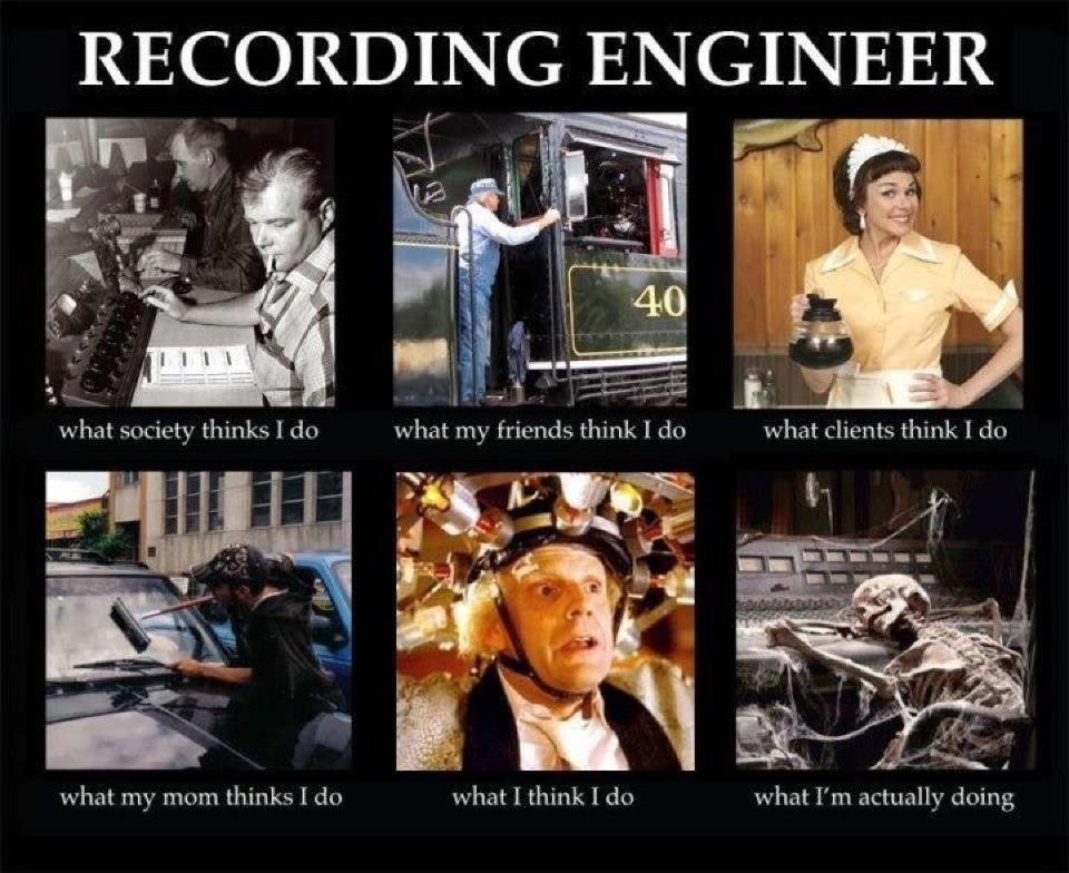 Audio Engineer Memes Home Facebook