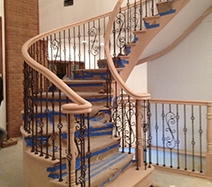 Wooden Stairs In Second Generation Wood Stairs Scoop It   Second Generation Wood Stairs   Railing   Presentation Transcript   Powerpoint Presentation   Interior Stair   Railing Systems