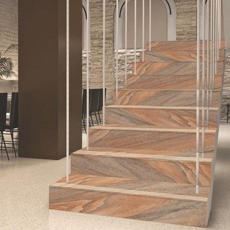 Stair Riser Ceramic Tiles In Or Ceramic Morbi Border Rangoli | Floor Tiles Design For Stairs | Hallway Floor Tile | Stair Landing | House | Stair Riser | Wall