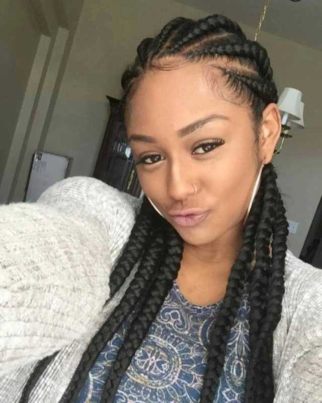 scooper - femininity news: trendy nigerian cornrow