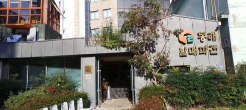 """釜山/東萊~到這裡沒吃過煎餅就不算來過的""""東萊奶奶蔥煎餅""""(동래 할매파전)"""