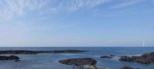 濟州/濟州市~陽光沙灘與咖啡香~讓人留連忘返的月汀里海邊(월정리해변)