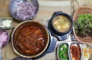 大邱。西門市場站   三美食堂( 삼미식당)~美味的燉排骨,巷弄間的好味道