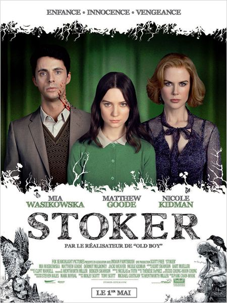 Stoker : un thriller glaçant