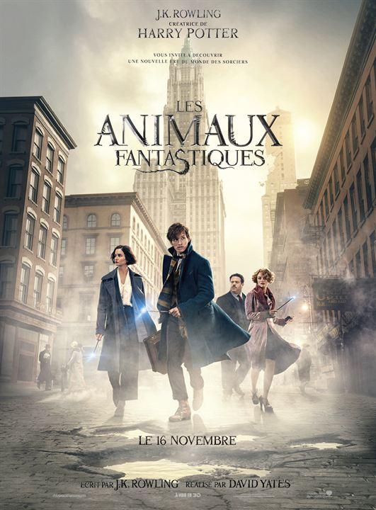 affiche du film Les Animaux fantastiques