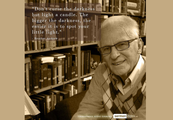 Image result for brother andrew quote images