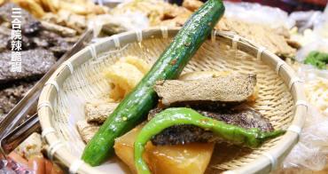 太原夜市必吃 三合院辣脆腸 古早味滷味獨門醬汁也太涮嘴 食材當日現煮現賣新鮮好吃