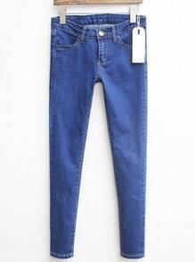 Blue Slim Denim Pant