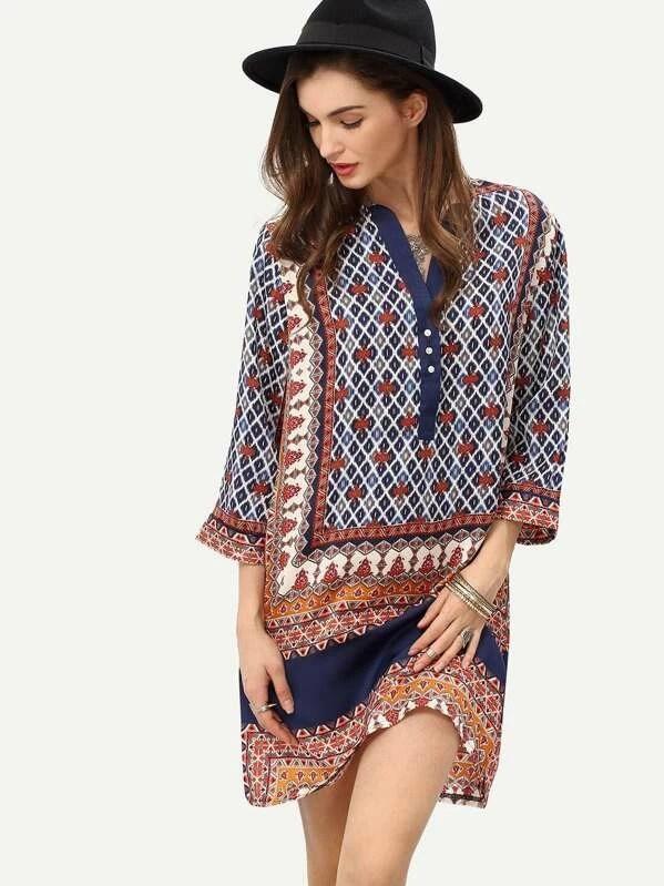 3 Stuck Tunika Folklore Kleid Bluse Gr M L Mittelalter Goa In