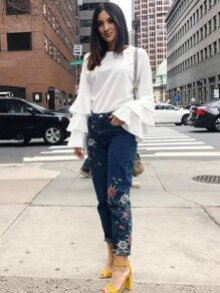 Shein Spring Top Inexpensive