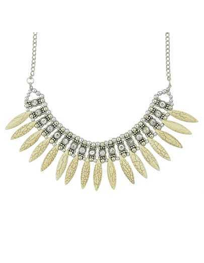 Gold Bead Diamond Chain Necklace pictures