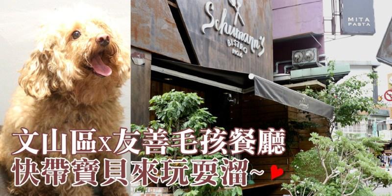 【文山區】舒曼六號餐館 Schumann's Bistro No. 6 平價消費的友善毛孩餐廳