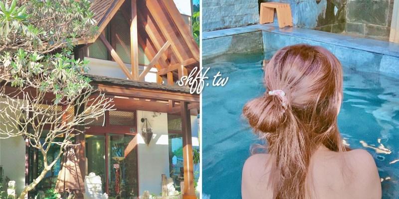 台中谷關溫泉推薦,原來泡湯也能這麼享受!網美風vs.峇厘島渡假風,旅行就是這麼愜意!