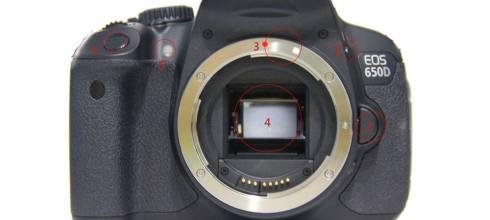 【學攝影】單眼相機基本功能與按鈕操作方式介面解說1(正面)-單眼相機攝影教學系列