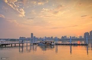 【熱門攝影景點03】大稻程碼頭賞夕陽拍黃昏拍攝景點攻略-北部拍照旅遊風景攝影指南