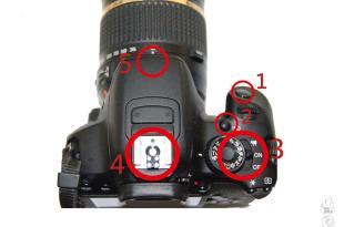 【學攝影】單眼相機基本功能與按鈕操作方式介面解說2+鏡頭按鈕(上方)-單眼相機攝影教學系列