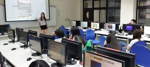 【海報設計工作坊第一次做海報就上手】大葉大學國企系學會幹訓 講師:吳鑫