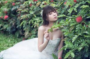 【自助婚紗攝影】台北士林官邸婚紗 夢幻森林系風格
