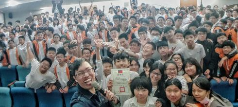 【校園生涯築夢講座】臺北市景文高級中學 夢想神攝手 講師:吳鑫