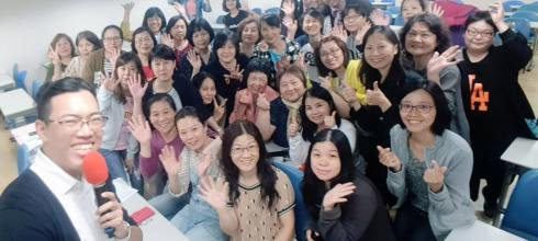 【手機攝影3C 創意多媒體課程】板橋北區居家托育服務中心教育訓練 講師:吳鑫